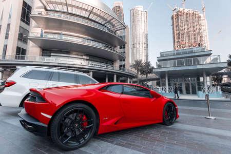 Dubai City car