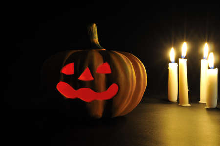 traditional house: Halloween Stock Photo