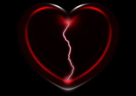 secret, feeling, mystery of love, spark, lightning Stock Photo - 2460931