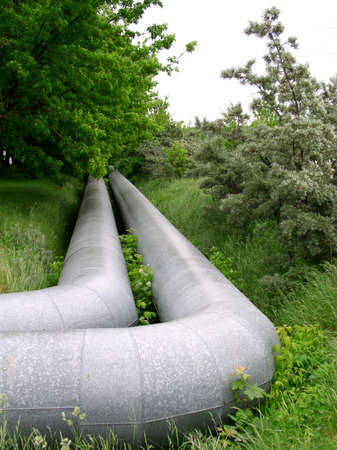 globalwarming: pipeline on the grass