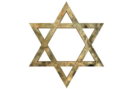star path: Star of David with path