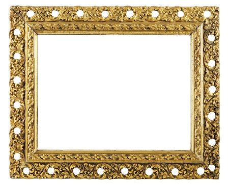 retro very old gold frame Stock Photo - 3031598