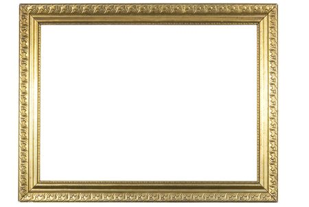 retro very old gold frame Stock Photo - 3031592