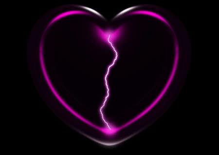 secret, feeling, mystery of love, spark, lightning photo