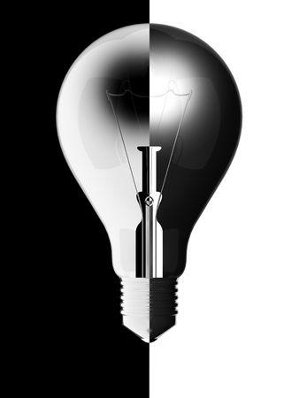 Light Bulb balance photo