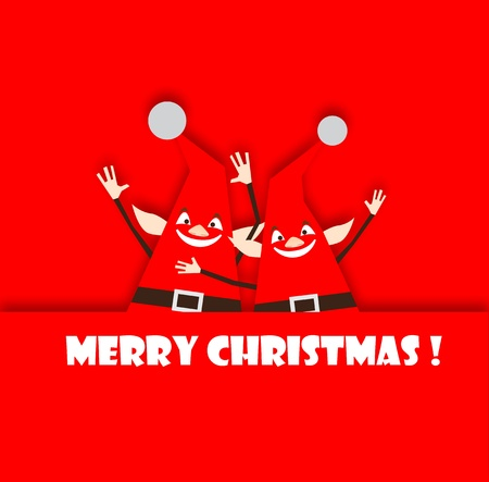 elf's: Happy and funny christmas elfs