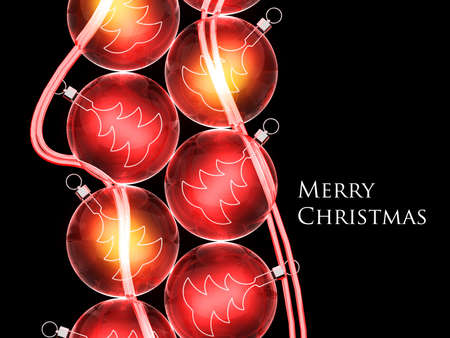 glas: Christmas background for your design.