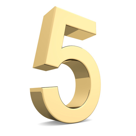 finanse: Collection of golden numbers on a white background