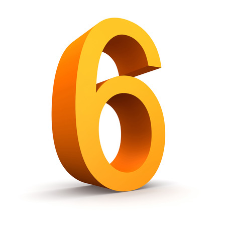 finanse: Collection of orange numbers