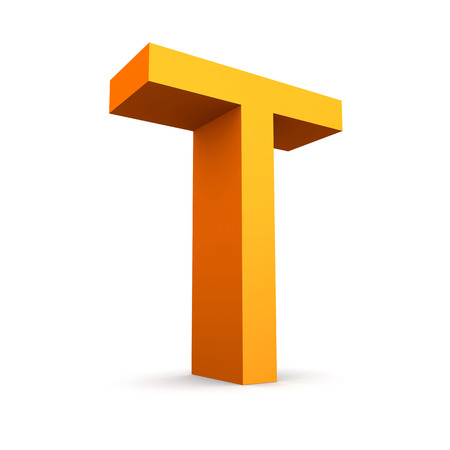 finanse: Collection of orange letters  Stock Photo