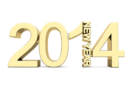 Golden numbers 2014  photo