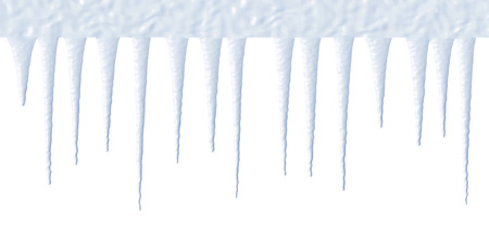 froze: icicles illustration