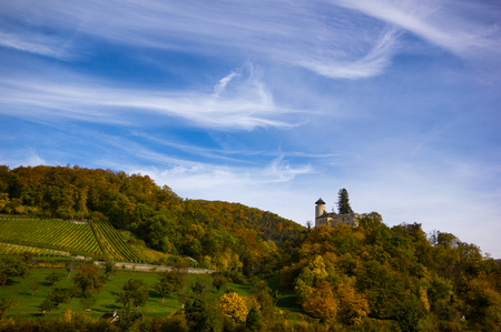 Arlesheim Switzerland in autumn Фото со стока