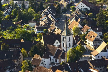 evangelical: The fortified church of St. Arbogast, serving the local evangelical community, was built in the late Middle Ages. Its surrounding seven metre tall ramparts built in the 15th century are still intact. A charnal house was built adjoining the church in the 1