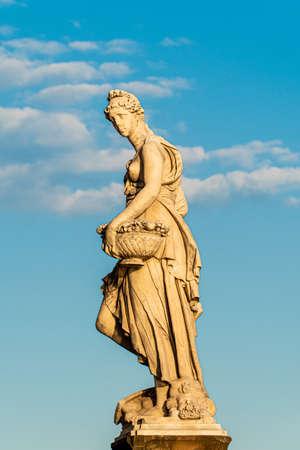 Statue of the Ponte Santa Trinita