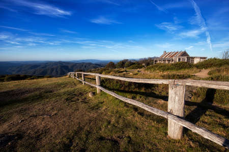 shurb: Craigs Hut Stock Photo