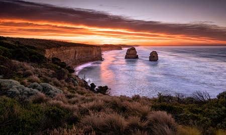 Gibson Steps, Twelve Apostles, Great Ocean Road, Victoria, Australia Stock Photo