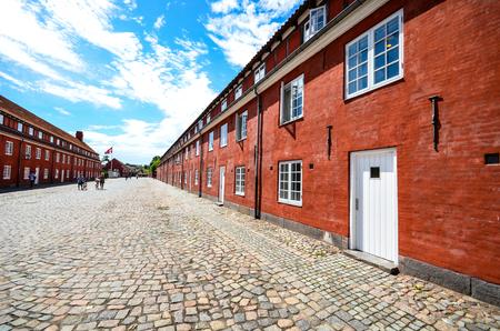 Kastellet the Copenhagen defense line Banque d'images