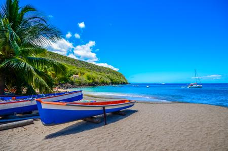 Caribbean Martinique beach Stock Photo