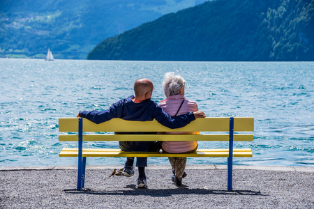 Hard life of a retired couple