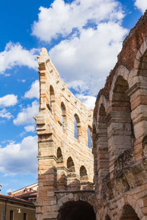 The Verona Arena is a Roman amphitheatre in Piazza Bra in Verona, Italy built in the first century