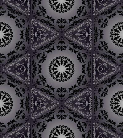 Hexagonal seamless tapestry