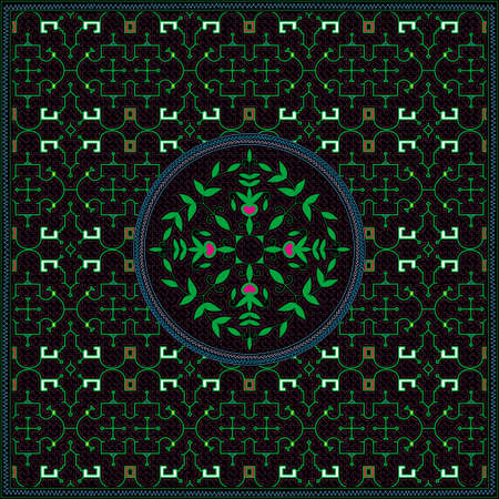 1 of 12 Shipibo Conibo artwork patterns HD set