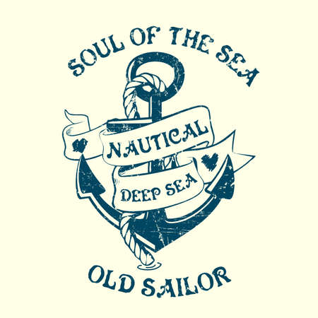 tee: Anchor Sailor Tee Design