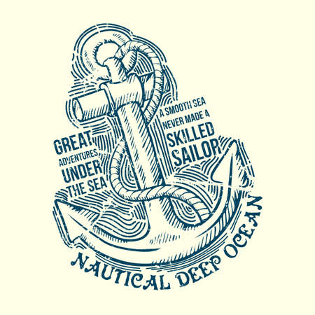 Anchor Sailor Tee Design