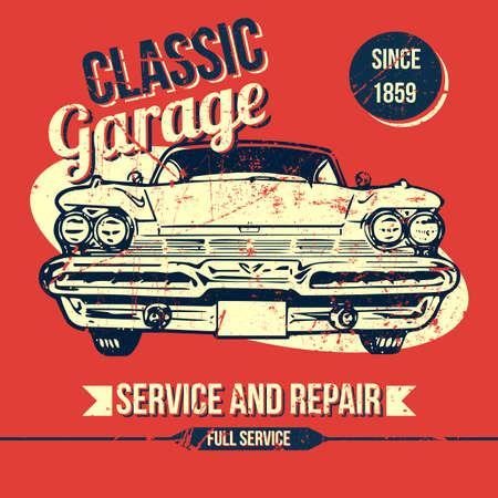 40s: Vintage Classic Garage Design