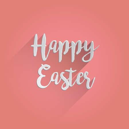 Happy Easter Lettering Design