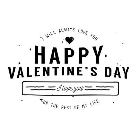 Happy Valentine's Day Card Design