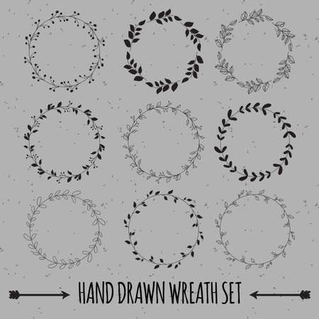 Beautiful Wreath Set Design