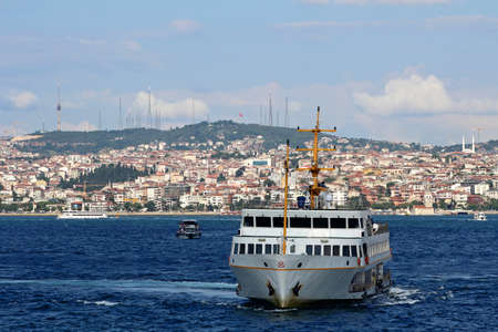 Historical Peninsula, Eminonu in Istanbul, Turkey.