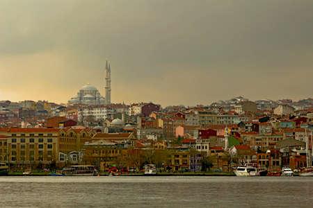 Historical Halic in Istanbul, Turkey.