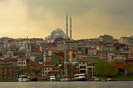 Historical Halic in Istanbul, Turkey.