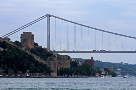 hisari: Rumeli on bosphorus in Istanbul, Turkey.