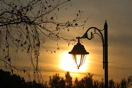 aml: Sunset on Camlica in Istanbul, Turkey.