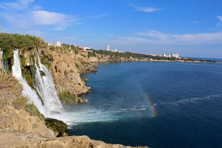 Duden waterfall in Antalya, Turkey.