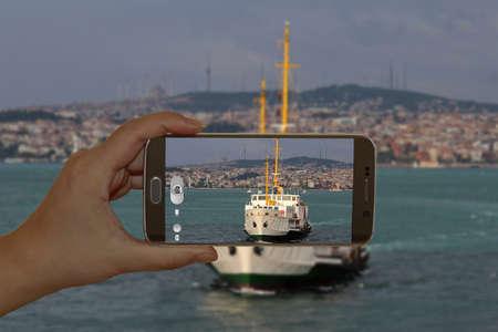 joyride: Bosphorus in Istanbul, Turkey.