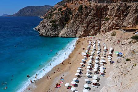 Kaputas Beach in Kas, Antalya.