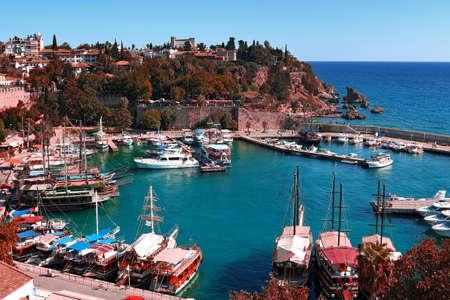 Old City Kaleici in Antalya, Turkey.