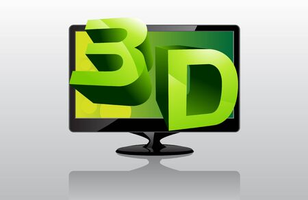 television show: Image of 3D television show how realistic how the view can be