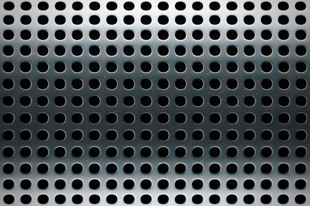 large metal texture with black background and light reflections