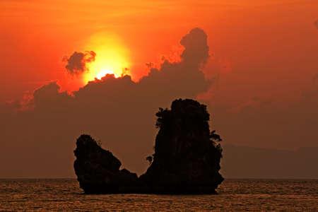 langkawi island: Beautiful sunset at Tanjung Rhu Beach, Andaman Sea #1