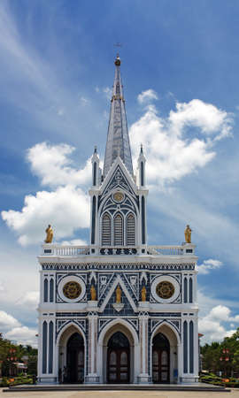 Christ church near Amphawa and Bangkok,Thailand #1 Stock Photo - 8097696