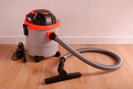 Wet and dry vacuum cleaner, Electrical appliances for home use 스톡 콘텐츠