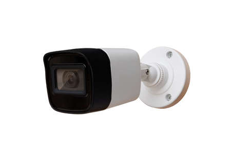 CCTV Camera of security isolate on white background