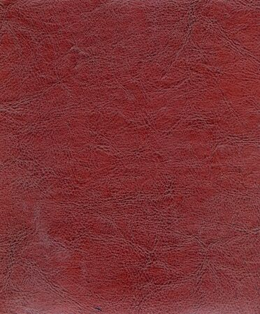 mottled skin: High resolution red leather texture - very detailed and real... Stock Photo