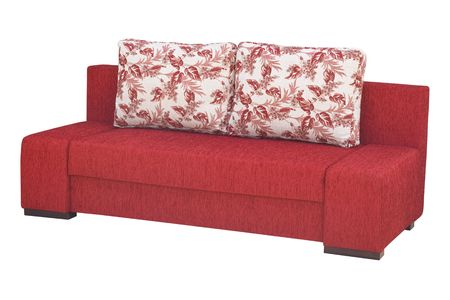 seater: A sofa isolated on a white background with clipping path